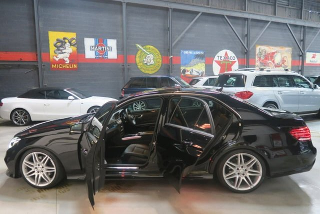 Used Mercedes-Benz E250 CDI W212 MY14 7G-Tronic +, 2014 Mercedes-Benz E250 CDI W212 MY14 7G-Tronic + Black 7 Speed Sports Automatic Sedan