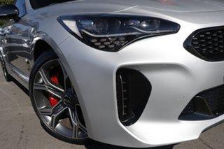 2020 Kia Stinger CK MY20 GT Fastback Silky Silver 8 Speed Sports Automatic Sedan.