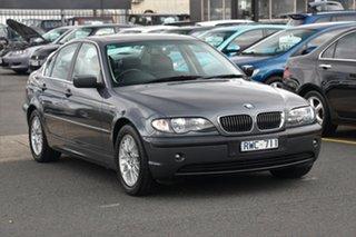 2002 BMW 325i E46 MY2002 Steptronic Grey 5 Speed Sports Automatic Sedan.