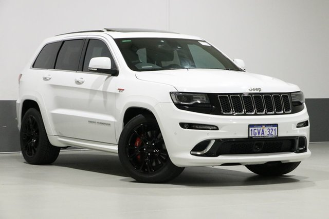 Used Jeep Grand Cherokee WK MY15 SRT 8 (4x4), 2015 Jeep Grand Cherokee WK MY15 SRT 8 (4x4) White 8 Speed Automatic Wagon
