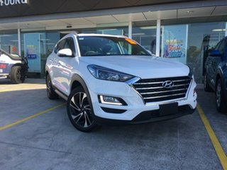 2018 Hyundai Tucson TLE3 MY19 Special Edition D-CT AWD Polar White 7 Speed.