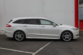2018 Ford Mondeo MD 2018.25MY Titanium PwrShift White 6 Speed Sports Automatic Dual Clutch Wagon