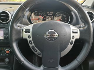 2013 Nissan Dualis J107 Series 3 MY12 +2 Hatch X-tronic 2WD Ti-L Black 6 Speed Constant Variable