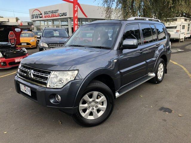 Used Mitsubishi Pajero NT MY10 GLS, 2009 Mitsubishi Pajero NT MY10 GLS Blue 5 Speed Sports Automatic Wagon