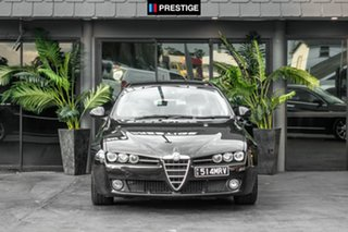 2008 Alfa Romeo 159 JTD Black 6 Speed Sports Automatic Sedan.
