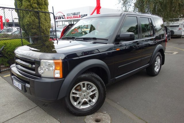 Used Land Rover Discovery 3 Series 3 08MY S, 2008 Land Rover Discovery 3 Series 3 08MY S Blue 6 Speed Sports Automatic Wagon