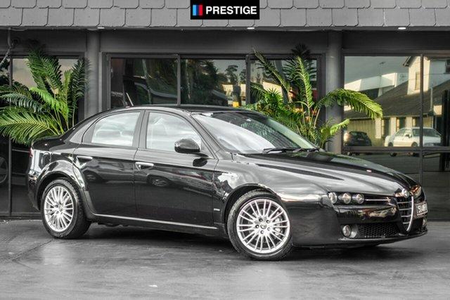 Used Alfa Romeo 159  JTD, 2008 Alfa Romeo 159 JTD Black 6 Speed Sports Automatic Sedan