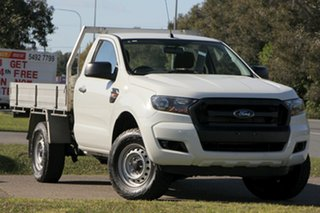 2015 Ford Ranger PX MkII XL 4x2 Hi-Rider White 6 Speed Sports Automatic Cab Chassis.