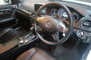 2014 Mercedes-Benz C-Class W204 MY14 White 7 Speed Sports Automatic Wagon