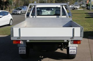 2015 Ford Ranger PX MkII XL 4x2 Hi-Rider White 6 Speed Sports Automatic Cab Chassis