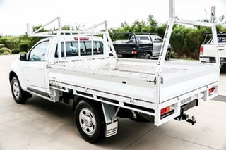 2015 Holden Colorado RG MY15 LS 4x2 Summit White 6 Speed Manual Cab Chassis.