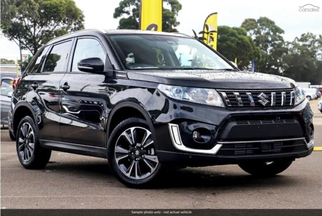 Demo Suzuki Vitara  , 2019 Suzuki Vitara VITARA VITARA S-TURBO GLX+ AUTO 2WD BOOSTJET Crystal Black Wagon