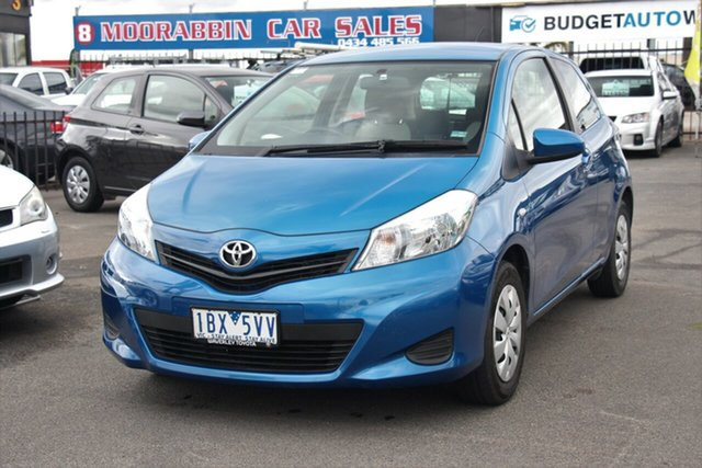 Used Toyota Yaris NCP130R YR, 2014 Toyota Yaris NCP130R YR Blue 4 Speed Automatic Hatchback