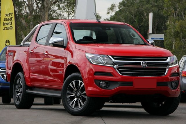 Used Holden Colorado RG MY18 LTZ Pickup Crew Cab, 2018 Holden Colorado RG MY18 LTZ Pickup Crew Cab Red 6 Speed Sports Automatic Utility