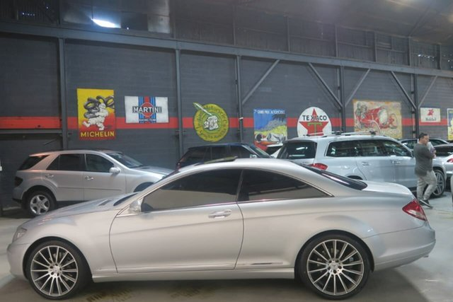 Used Mercedes-Benz CL500 C216 MY08 , 2008 Mercedes-Benz CL500 C216 MY08 Silver 7 Speed Sports Automatic Coupe
