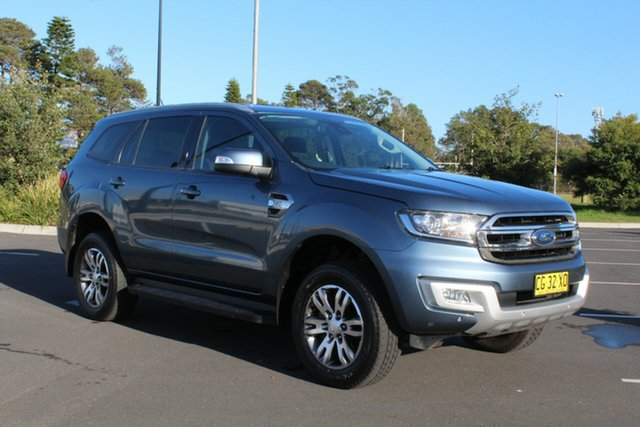Used Ford Everest UA Trend 4WD, 2016 Ford Everest UA Trend 4WD Blue Reflex 6 Speed Sports Automatic Wagon