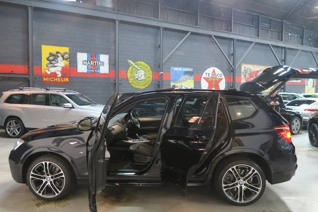 Used BMW X3 F25 LCI xDrive20d Steptronic, 2016 BMW X3 F25 LCI xDrive20d Steptronic Black 8 Speed Automatic Wagon