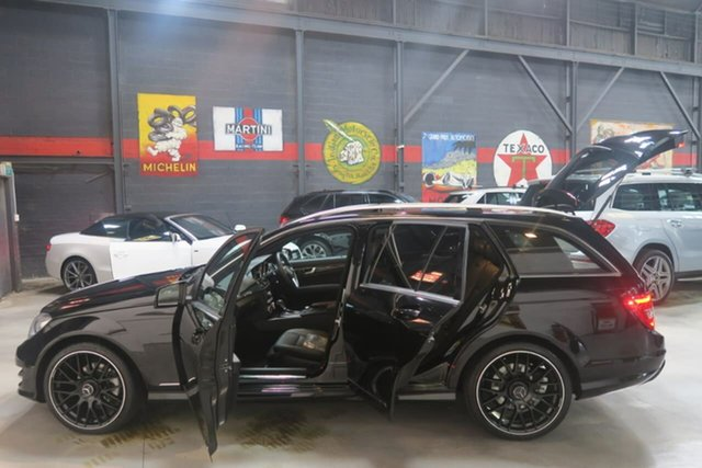 Used Mercedes-Benz C250 CDI W204 MY14 Avantgarde Estate 7G-Tronic +, 2014 Mercedes-Benz C250 CDI W204 MY14 Avantgarde Estate 7G-Tronic + Black 7 Speed Sports Automatic