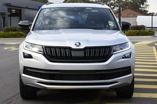 2020 Skoda Kodiaq NS MY20.5 132TSI DSG Sportline Brilliant Silver 7 Speed