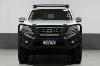 2016 Nissan Navara D23 Series II ST-X (4x2) Silver 7 Speed Automatic Dual Cab Utility.