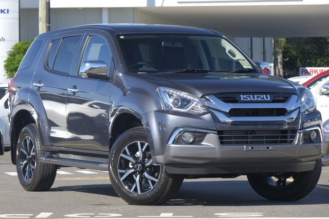New Isuzu MU-X MY19 LS-U Rev-Tronic, 2019 Isuzu MU-X MY19 LS-U Rev-Tronic Obsidian Grey 6 Speed Sports Automatic Wagon