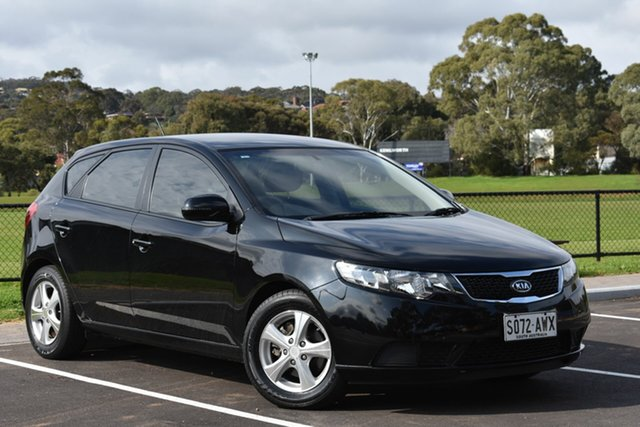 Used Kia Cerato TD MY12 SI, 2012 Kia Cerato TD MY12 SI Black 6 Speed Sports Automatic Hatchback