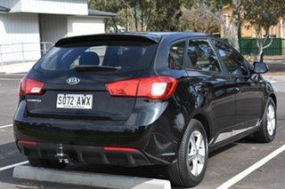 2012 Kia Cerato TD MY12 SI Black 6 Speed Sports Automatic Hatchback.
