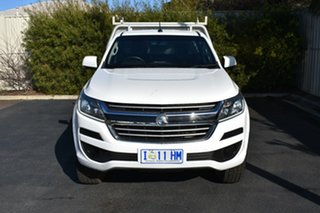 2016 Holden Colorado RG MY16 LS Olympic White 6 Speed Sports Automatic Cab Chassis.