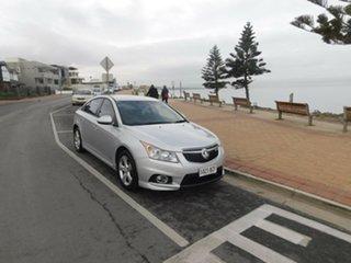2011 Holden Cruze JH Series II MY11 CD Silver 6 Speed Sports Automatic Sedan.