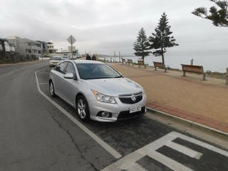 2011 Holden Cruze JH Series II MY11 CD Silver 6 Speed Sports Automatic Sedan.
