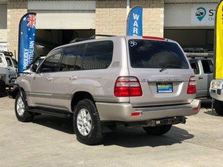2002 Toyota Landcruiser UZJ100R Sahara Silver 5 Speed Automatic Wagon.