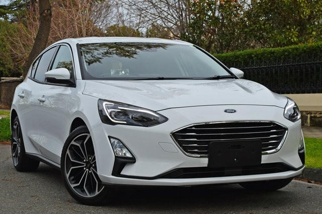 Used Ford Focus SA 2019MY Titanium, 2018 Ford Focus SA 2019MY Titanium White 8 Speed Automatic Hatchback