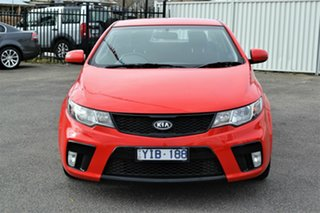 2011 Kia Cerato TD MY11 Koup SI Red 6 Speed Automatic Coupe