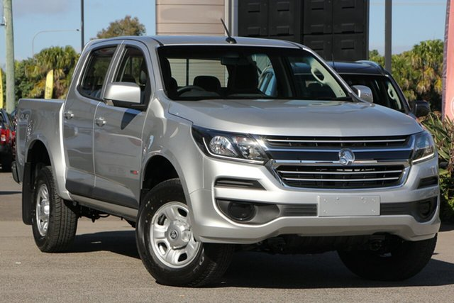 New Holden Colorado RG MY19 LS Pickup Crew Cab, 2019 Holden Colorado RG MY19 LS Pickup Crew Cab Dark Grey 6 Speed Sports Automatic Utility