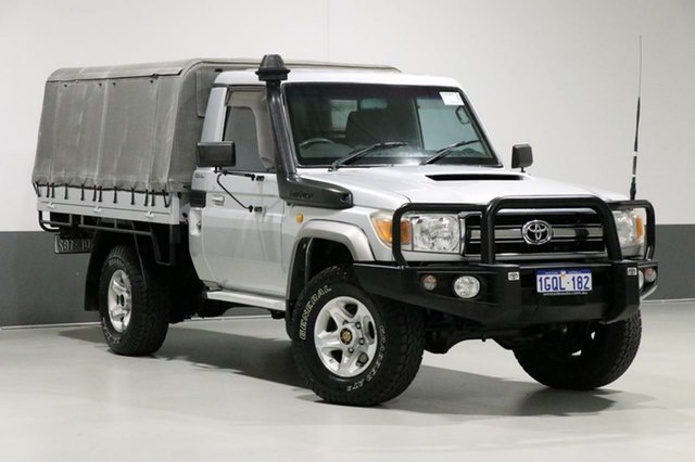 Used Toyota Landcruiser VDJ79R 09 Upgrade GXL (4x4), 2010 Toyota Landcruiser VDJ79R 09 Upgrade GXL (4x4) Silver 5 Speed Manual Cab Chassis