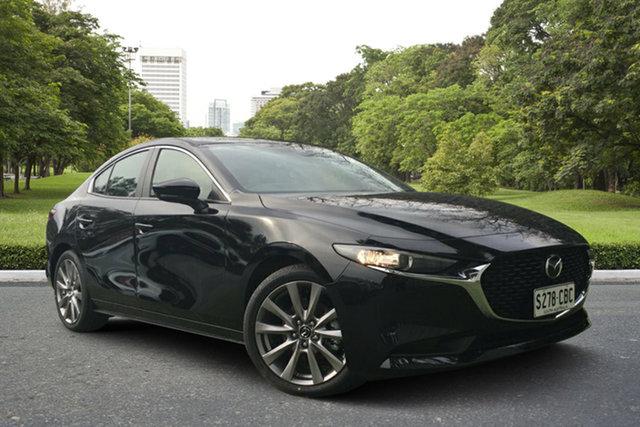 Demo Mazda 3 BP2SLA G25 SKYACTIV-Drive Evolve, 2019 Mazda 3 BP2SLA G25 SKYACTIV-Drive Evolve Jet Black 6 Speed Sports Automatic Sedan