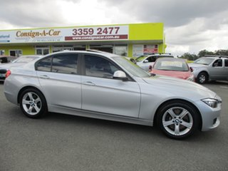 2012 BMW 3 Series F30 328i Silver 8 Speed Sports Automatic Sedan.