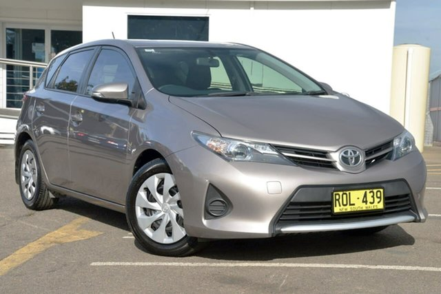 Used Toyota Corolla ZRE182R Ascent S-CVT, 2012 Toyota Corolla ZRE182R Ascent S-CVT Grey 7 Speed Constant Variable Hatchback