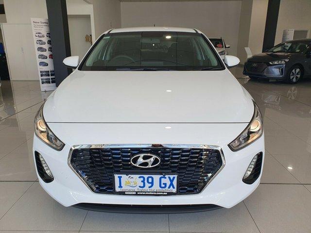 Demo Hyundai i30 PD MY19 Go, 2019 Hyundai i30 PD MY19 Go Polar White 6 Speed Sports Automatic Hatchback
