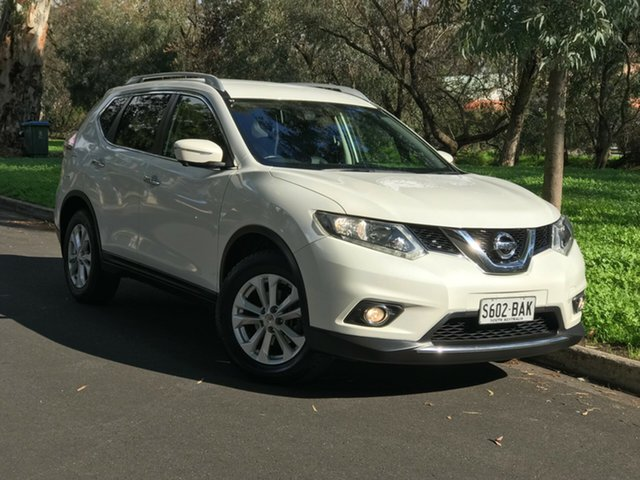 Used Nissan X-Trail T32 ST-L X-tronic 4WD, 2014 Nissan X-Trail T32 ST-L X-tronic 4WD White 7 Speed Constant Variable Wagon