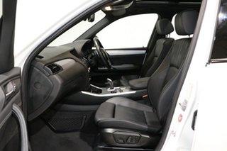 2015 BMW X3 F25 MY15 xDrive 30D White 8 Speed Automatic Wagon