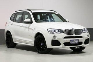 2015 BMW X3 F25 MY15 xDrive 30D White 8 Speed Automatic Wagon.