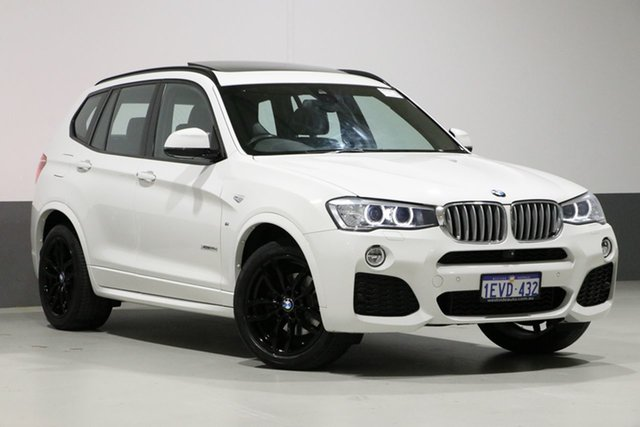 Used BMW X3 F25 MY15 xDrive 30D, 2015 BMW X3 F25 MY15 xDrive 30D White 8 Speed Automatic Wagon
