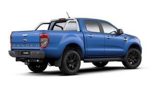 2019 Ford Ranger PX MKIII 2019.7 XLT Pick-up Double Cab Lightning Blue 10 Speed Automatic.