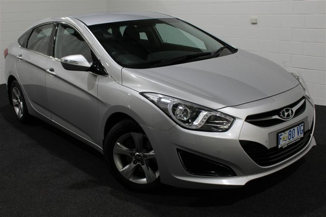 Used Hyundai i40 VF2 Active, 2014 Hyundai i40 VF2 Active Sleek Silver 6 Speed Sports Automatic Sedan