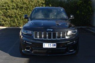 2015 Jeep Grand Cherokee WK MY15 SRT Black 8 Speed Sports Automatic Wagon.