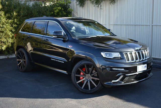 Used Jeep Grand Cherokee WK MY15 SRT, 2015 Jeep Grand Cherokee WK MY15 SRT Black 8 Speed Sports Automatic Wagon