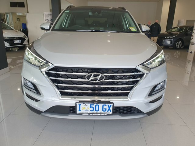 Demo Hyundai Tucson TL3 MY19 Highlander AWD, 2019 Hyundai Tucson TL3 MY19 Highlander AWD Platinum Silver 8 Speed Sports Automatic Wagon