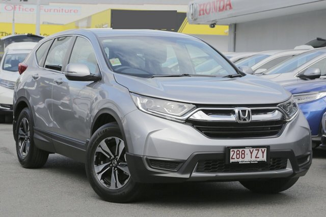 Demo Honda CR-V RW MY19 Vi FWD, 2019 Honda CR-V RW MY19 Vi FWD Lunar Silver 1 Speed Constant Variable Wagon