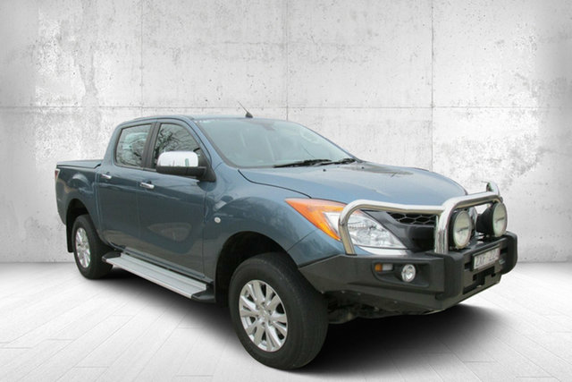 Used Mazda BT-50 UP0YF1 GT, 2013 Mazda BT-50 UP0YF1 GT Blue 6 Speed Sports Automatic Utility